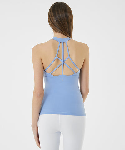 Cross Over Line Tank Top