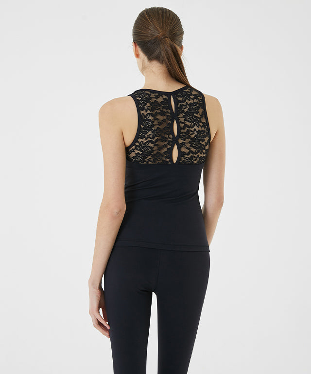Back Slit Race Top
