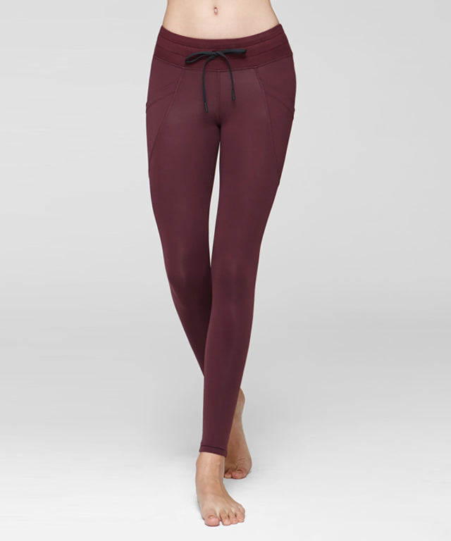 Side Pocket Sweat Leggings