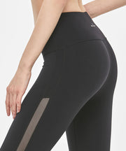 Side mesh leggings
