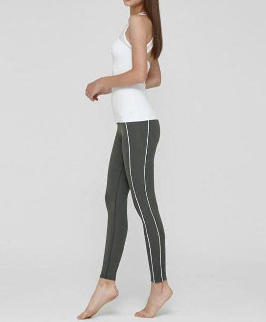 Double Line Skinny Leggings - Mulawear USA