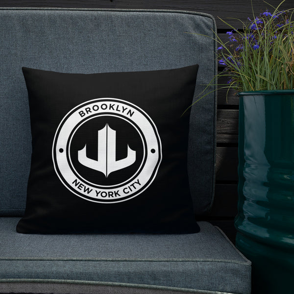 JL — Premium Black Pillow
