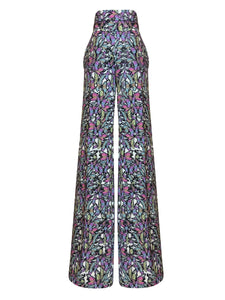Flyy Floral Wide Leg Trousers
