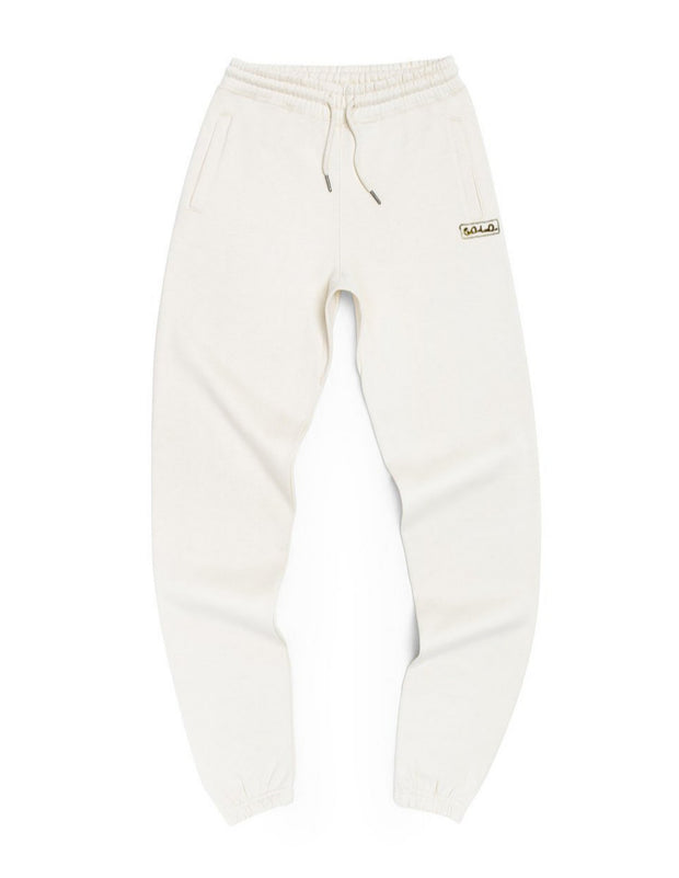 SPECIAL EDITION G.O.L.D. JOGGERS - WINTER WHITE
