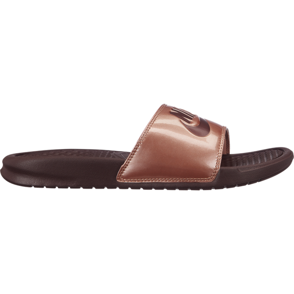 Nike Women's Benassi Slide 'Just Do It/Bronze'