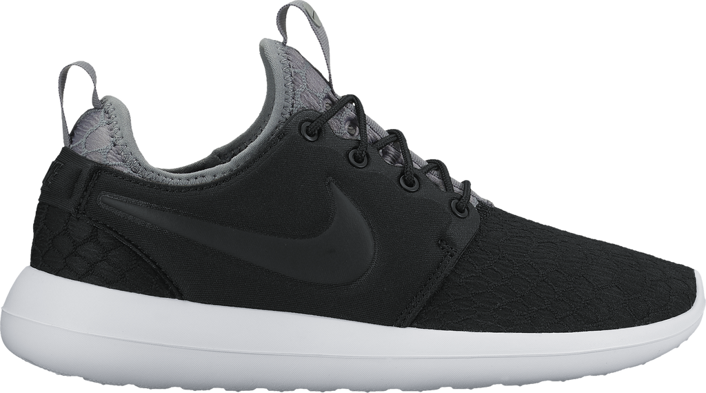 new product 6b7a2 fe4ba Nike Womens Roshe Two SE 'Black/Cool Grey'
