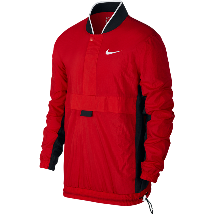 0656f6eb4a0f Nike Throwback Basketball Jacket  University Red  – Courtside Sneakers