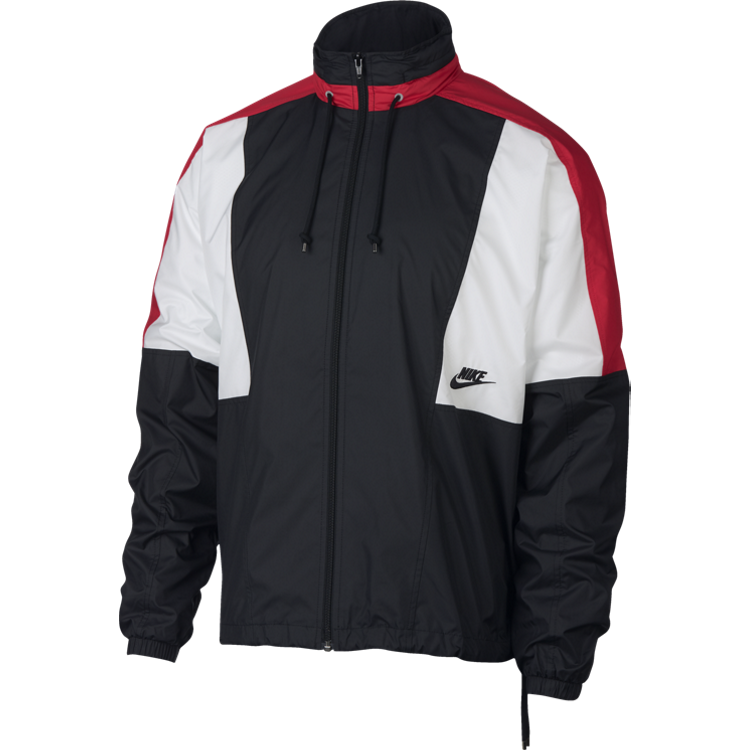 Nike Sportswear Jacket 'Black/University Red'