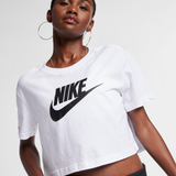 Nike Women's Crop T-Shirt 'White'