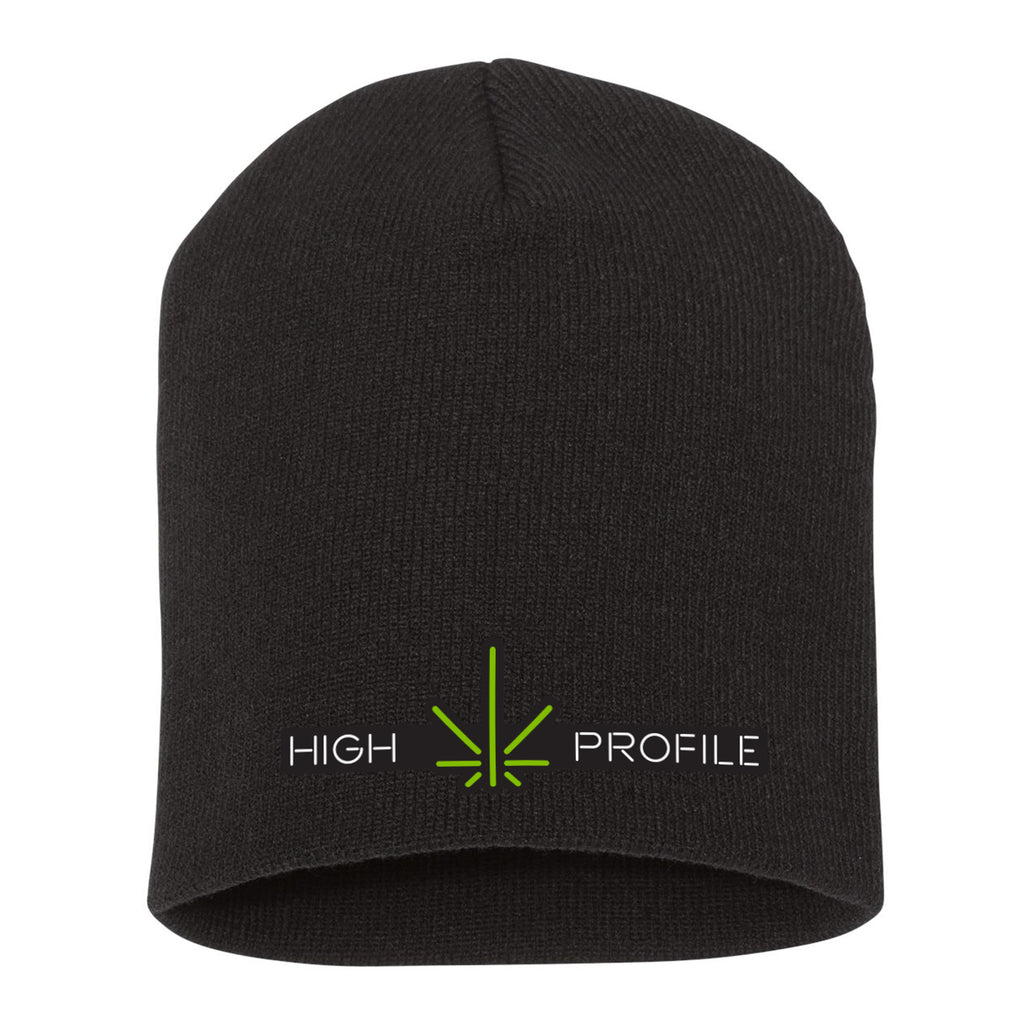High Profile Beanie – Black