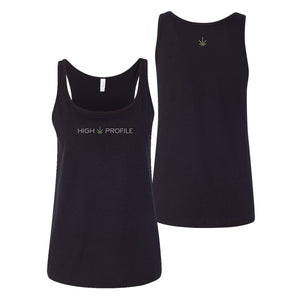 LADIES TANK-TOP - BLACK