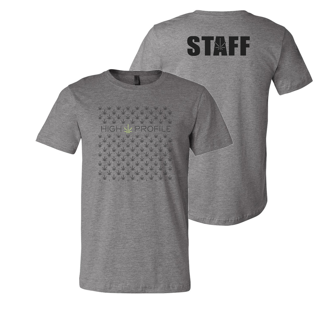 PATTERN TEE - GREY (STAFF ONLY)