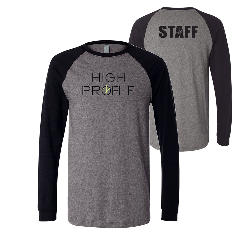 TEAM JERSEY TEE - GREY/BLACK (STAFF ONLY)