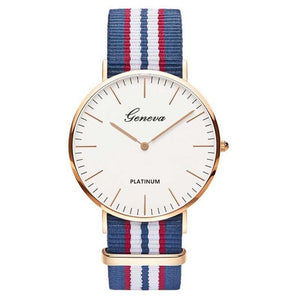Nylon Strap Quartz Women Watch - Trending products for less