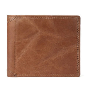 Cow Leather Men Wallets with Coin Pocket - Trending products for less