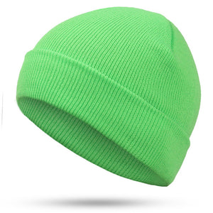 Solid Color Knit Beanies Hat - Trending products for less