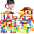 City House Roof Big Blocks Castle - Trending products for less