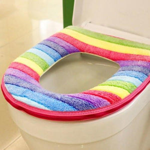 Rainbow Toilet Seat Cover - Trending products for less