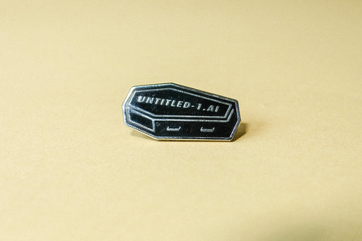 Untitled enamel pin