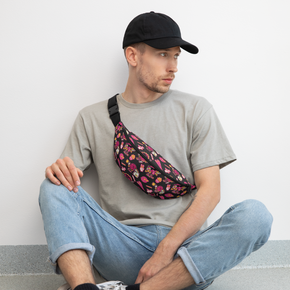 Good Vibes Fanny Pack, Black