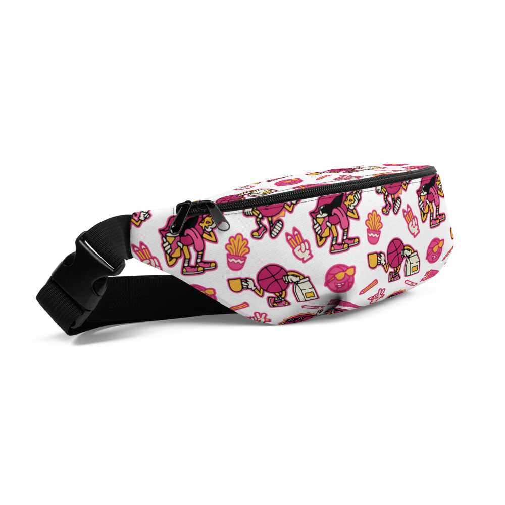 Good Vibes Fanny Pack, White