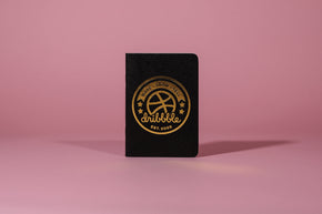 Gold foil notebook