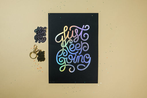 Just Keep Going inspiration pack