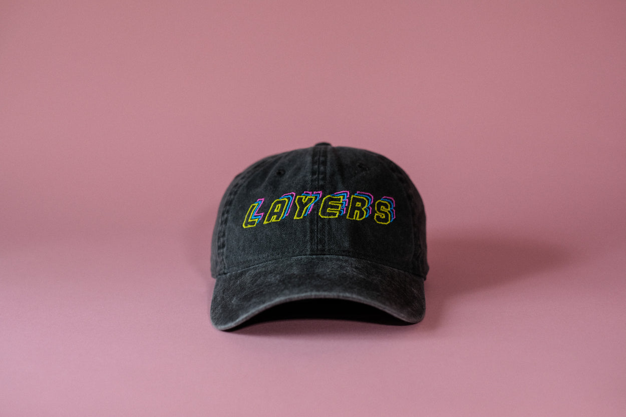 Layers dad hat