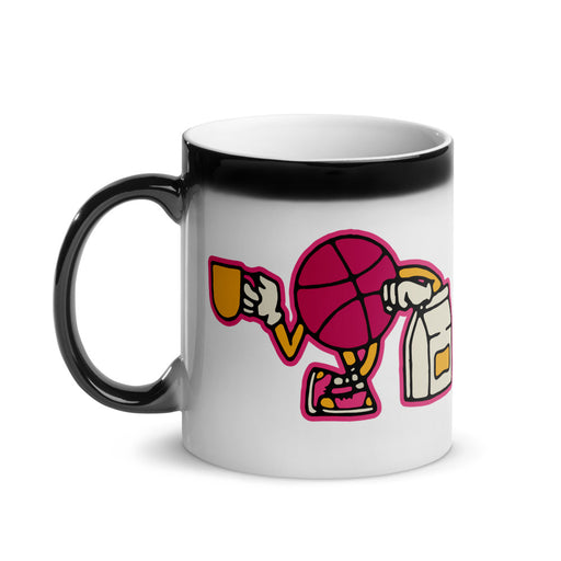 Good Vibes Glossy Black Magic Mug