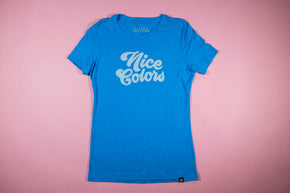 Nice colors tee (women's)