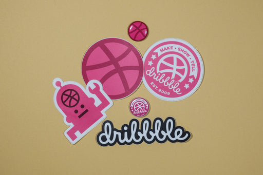 Sticker + button pack