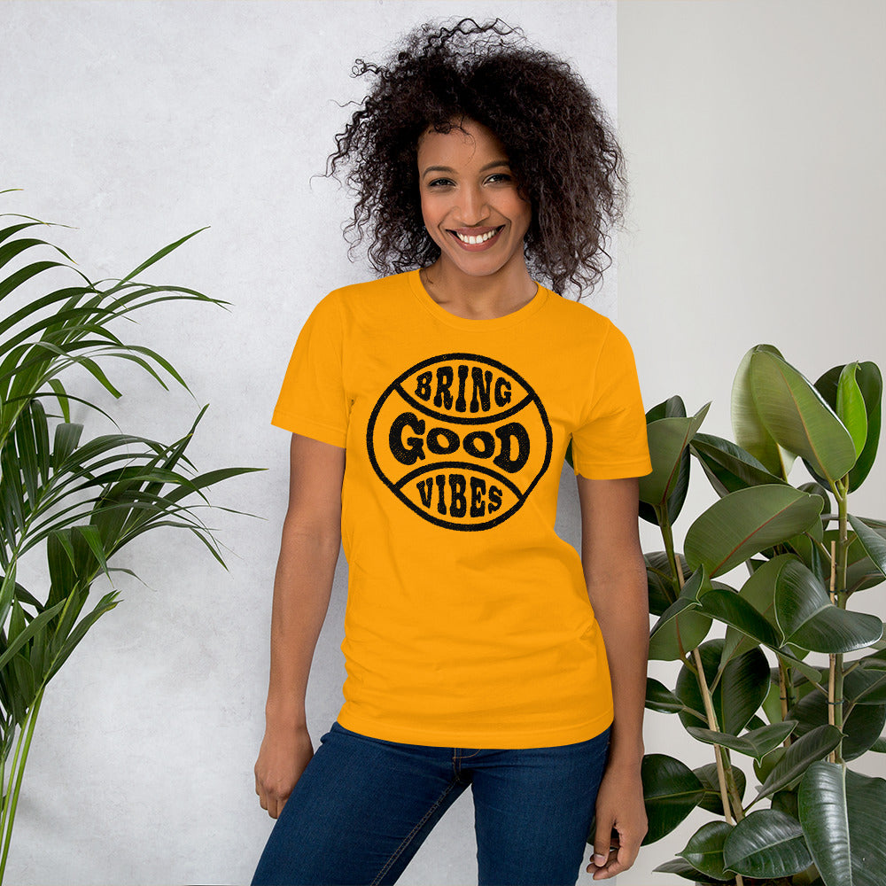 Bring Good Vibes Badge Tee