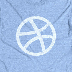 Weathered Ball Tee Blue
