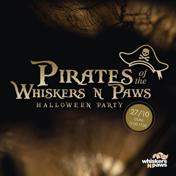 Pirates of the Whiskers N Paws - Halloween Party