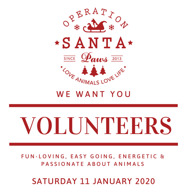 Operation Santa Paws Volunteers 2019