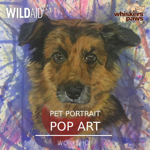 Pet Portrait Pop Art Workshop