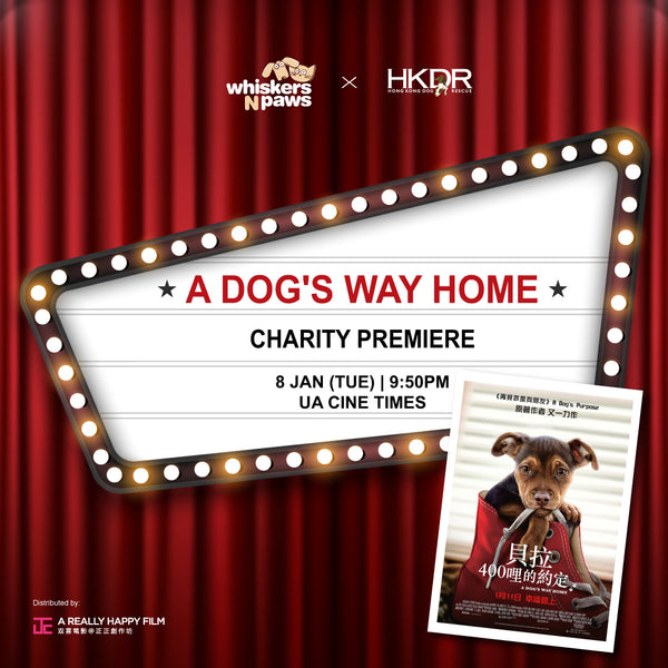 WNP X HKDR A Dog's Way Home Charity Premiere