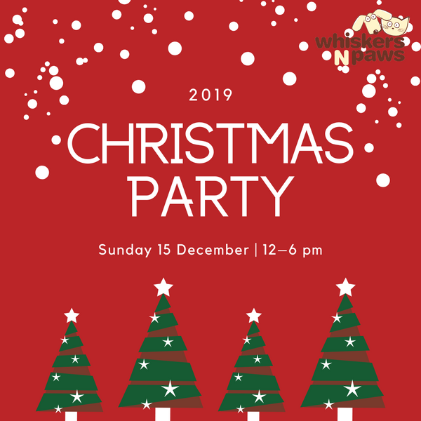 Whiskers N Paws Christmas Party 2019