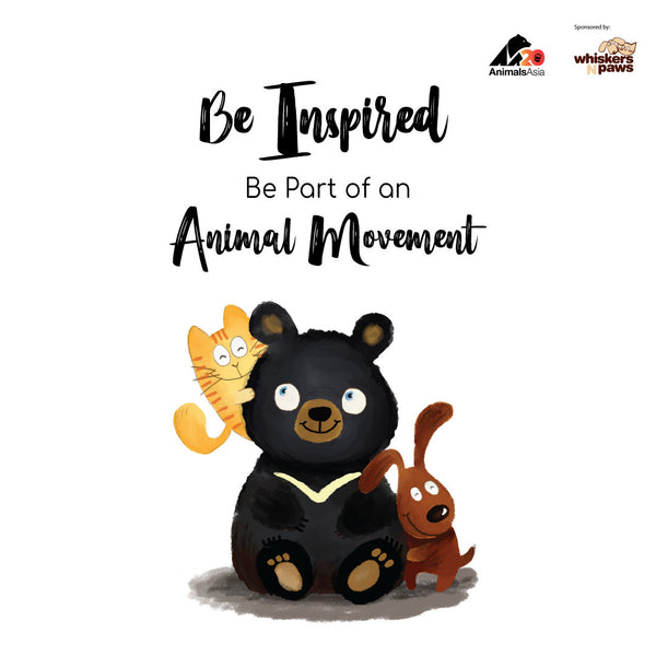 Be Inspired. Be Part Of An Animal Movement.