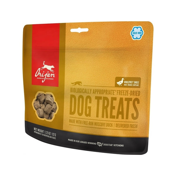 Free-Run Duck Freeze Dried Dog Treats, 1.5oz