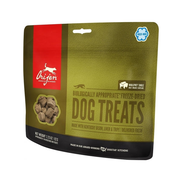 Plain Bison Freeze Dried Dog Treats, 1.5oz