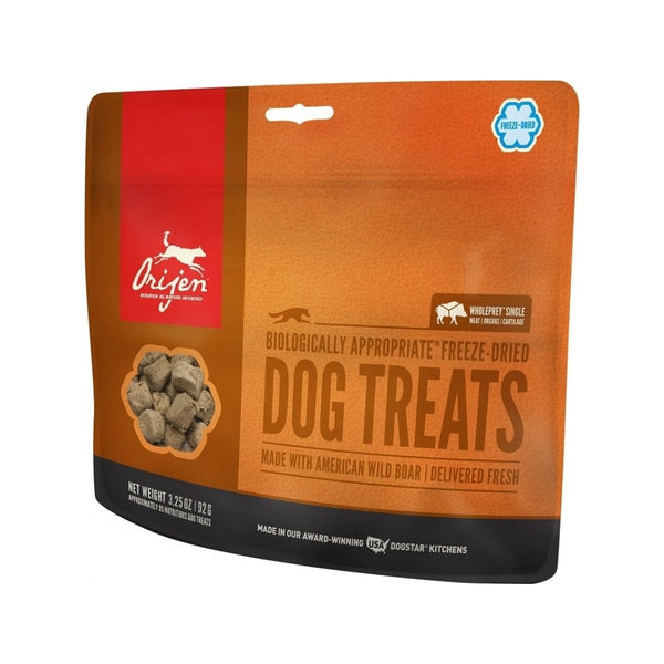 Wild Boar Freeze Dried Dog Treats, 1.5oz
