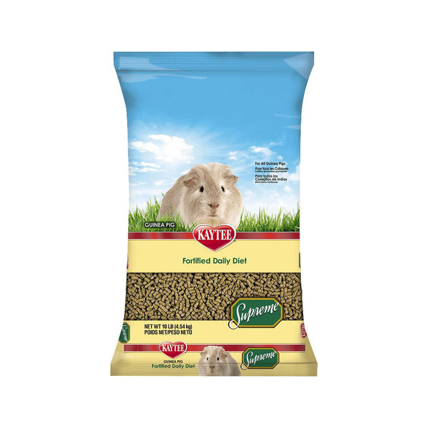Supreme Guinea Pig Fortified Daily Diet Food 10lb