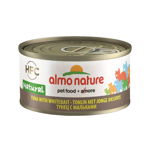Natural - Tuna and Whitebait, 70g