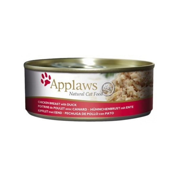 Chicken Breast with Duck Natural Wet Cat Food, 156g