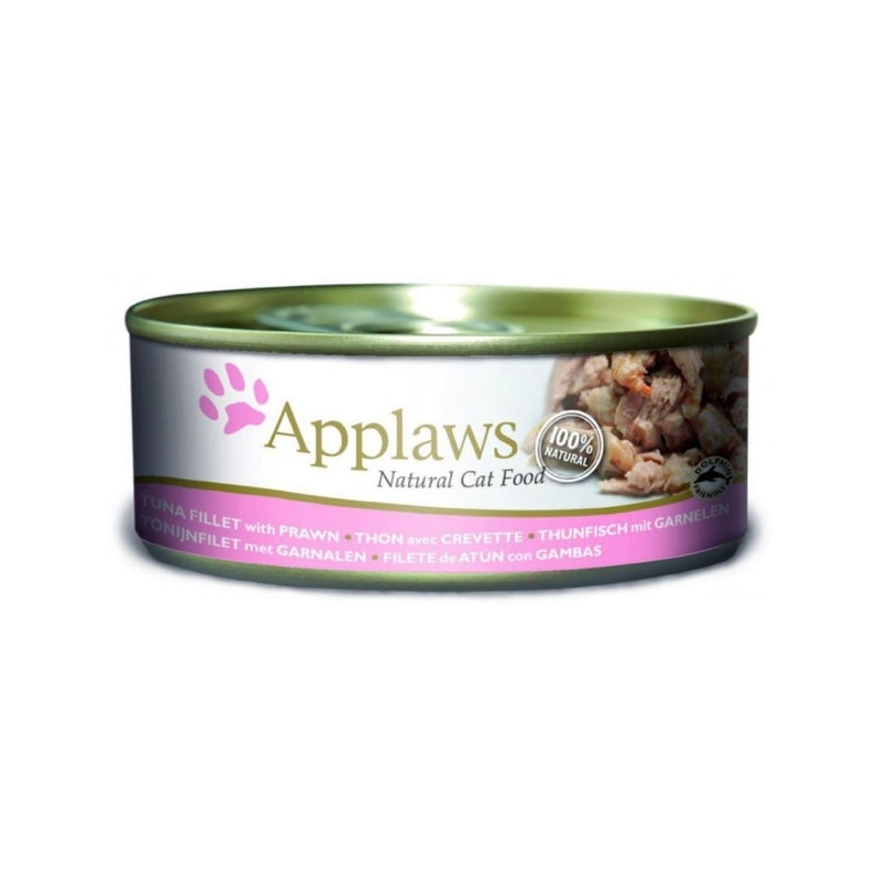 Tuna Fillet w/ Prawn Natural Cat Food, 156g