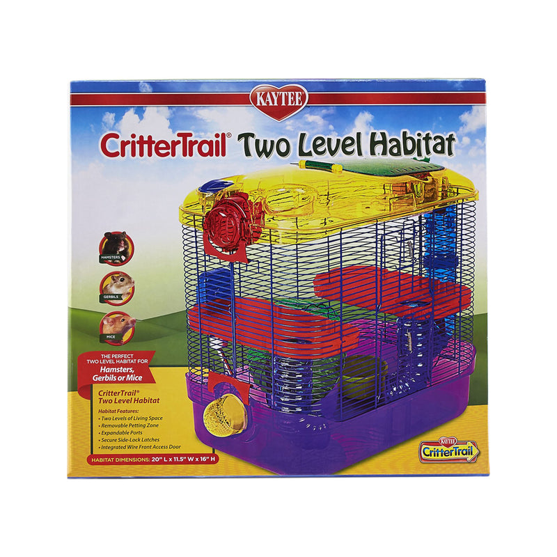 CritterTrail 2-Level Habitat