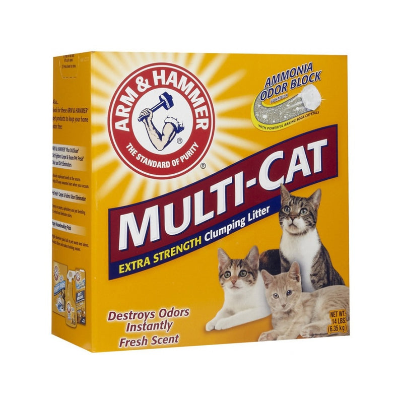 Multi-Cat Extra Strength Clumping Litter Weight : 20lb