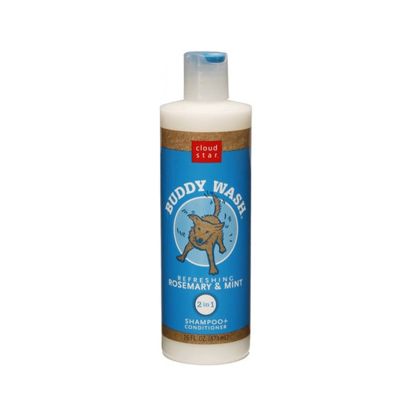 Buddy Wash Dog Shampoo - Rosemary & Mint, 16oz