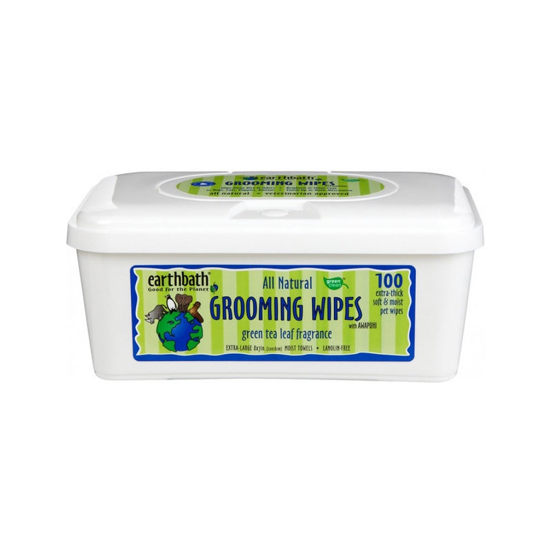 Green Tea Leaf Grooming Wipes Count : 100 wipes